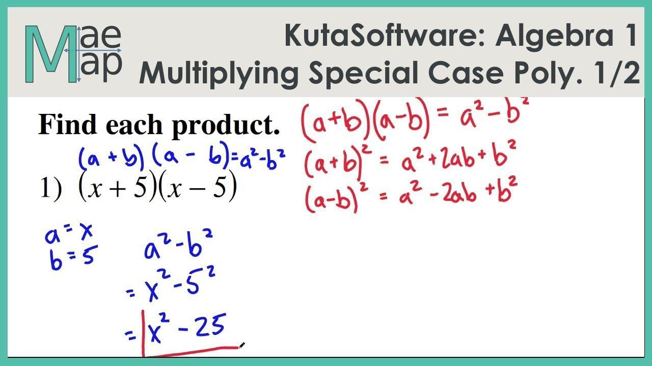 Multiplying Exponents Worksheets Kuta