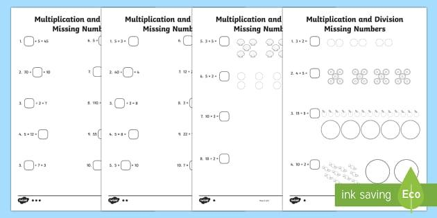 Teaching Multiplication Ks1
