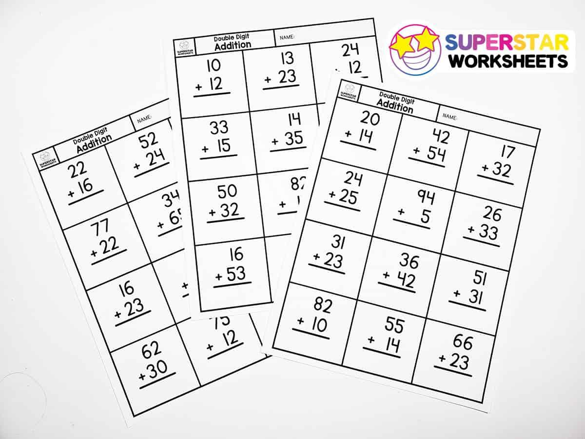 Math Worksheets No Regrouping Subtraction