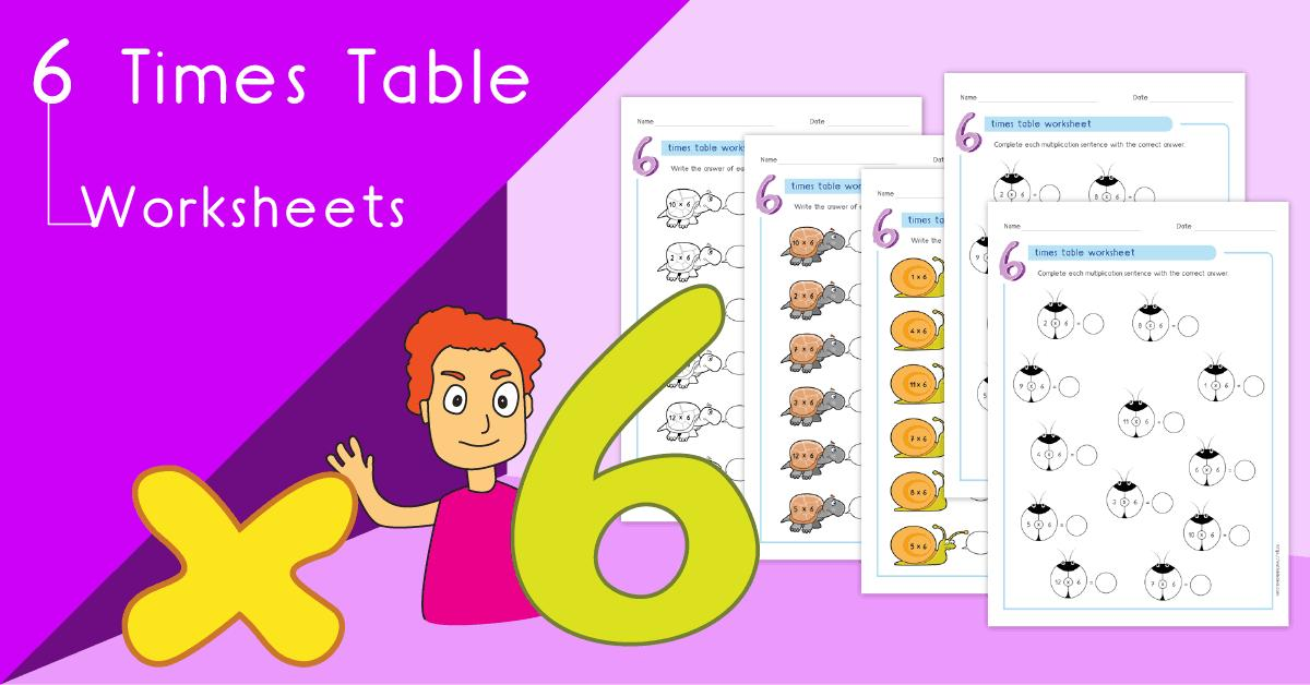 Multiplication Worksheets 6 And 7 Times Tables