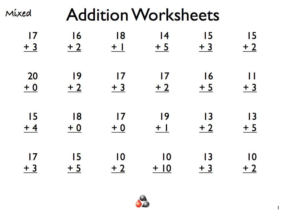 Multiplication Worksheets Level 1 7