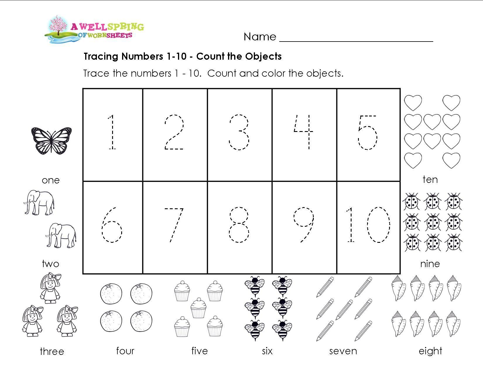 Multiplication Worksheets Numbers 1-10 5