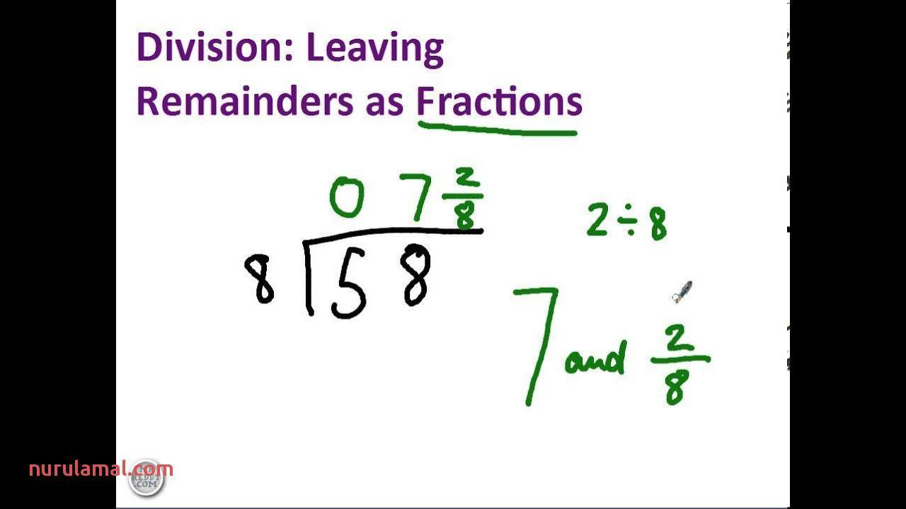 Multiplication Worksheets Remainders 6