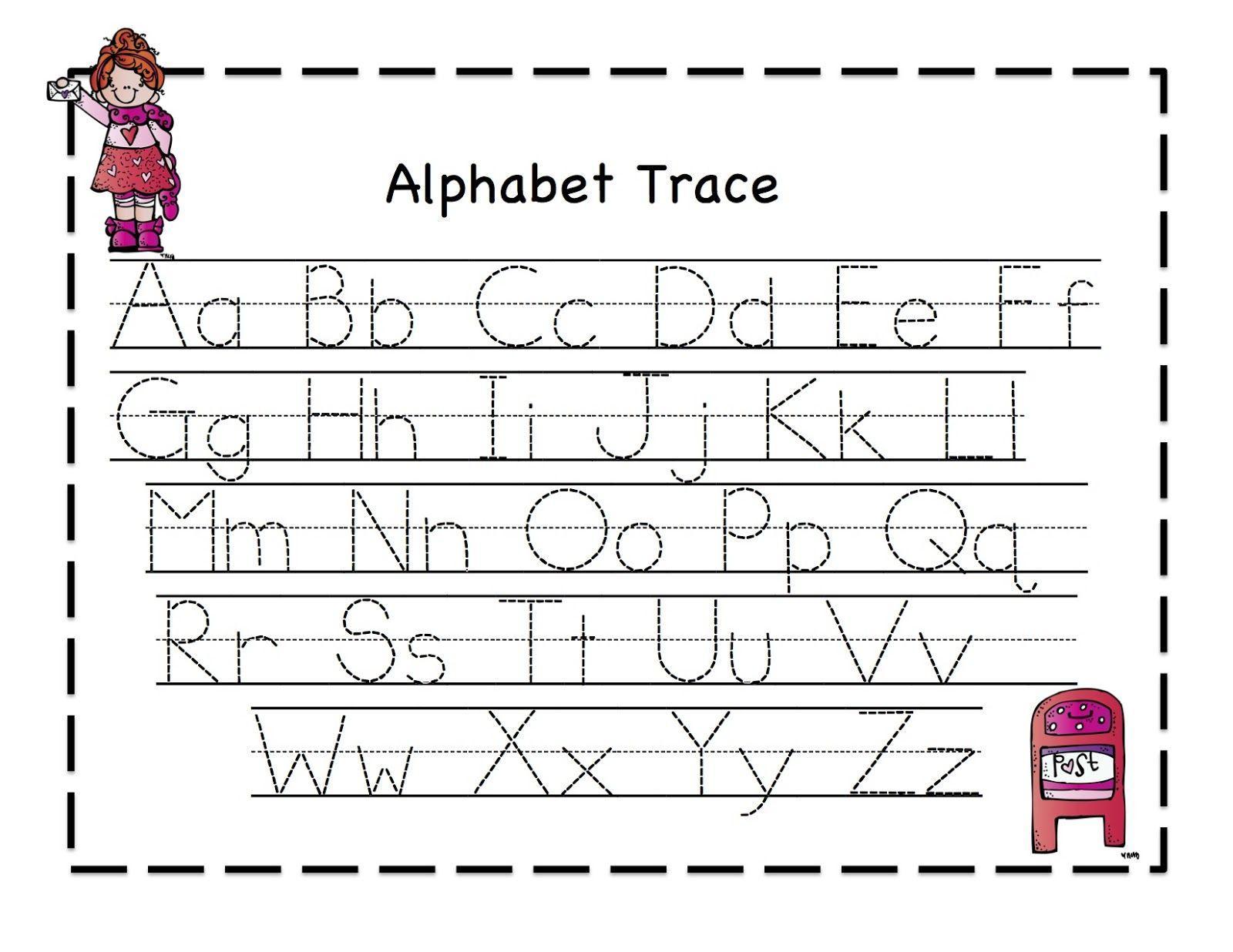 Free Preschool Worksheets Alphabet Tracing