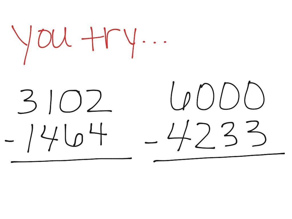 Multiplication Across Zeros Worksheets 3