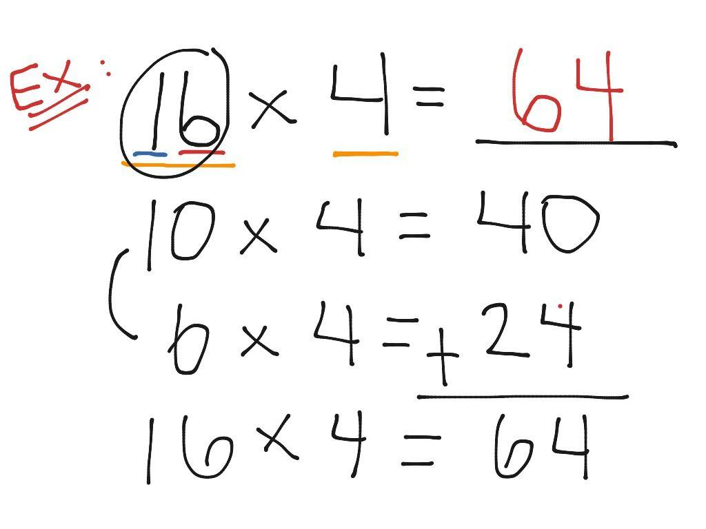 Multiplication Vertical Worksheets Common Core 5