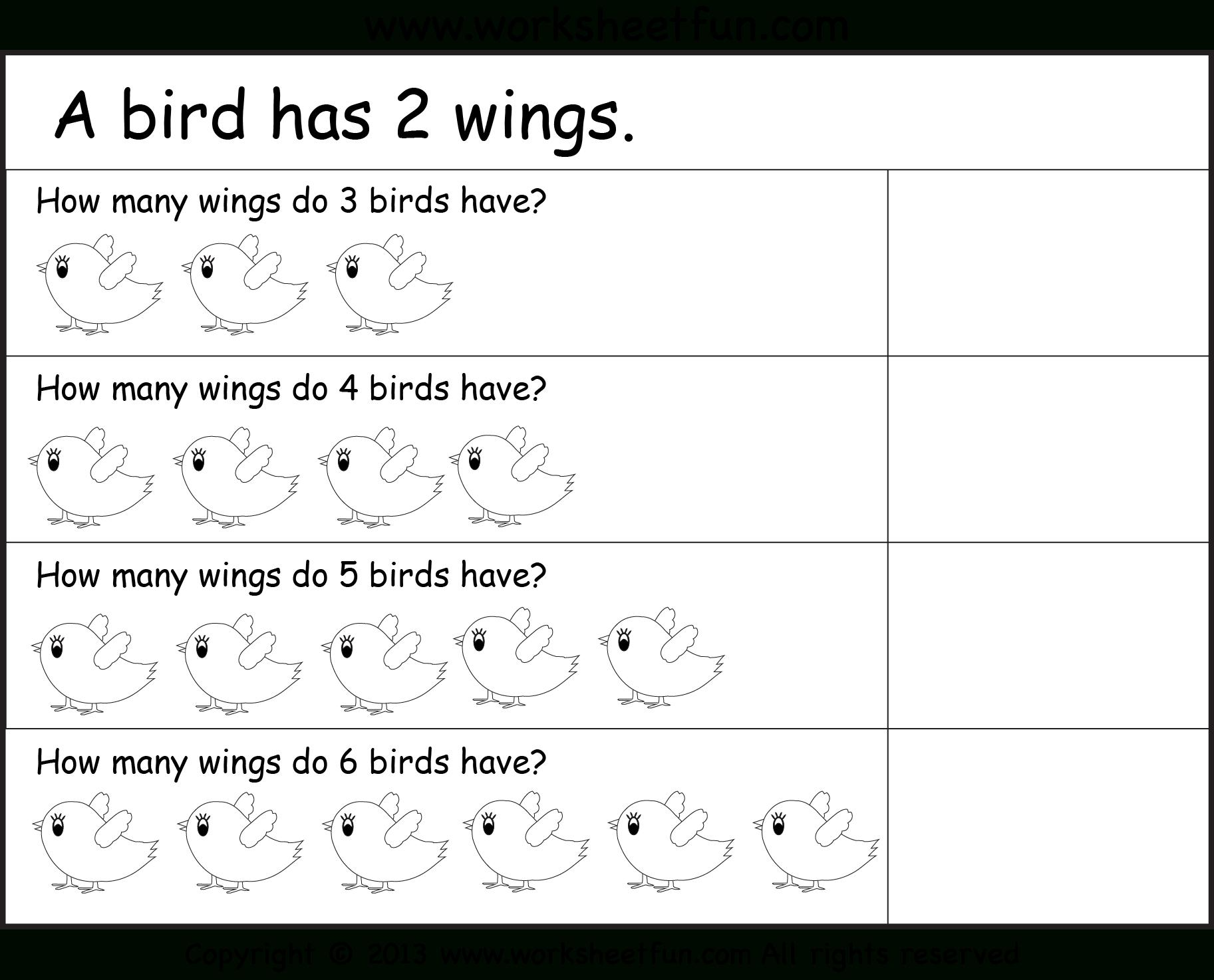Multiplication Worksheets Year 1 1