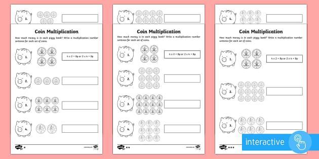 Multiplication Worksheets Year 2 1