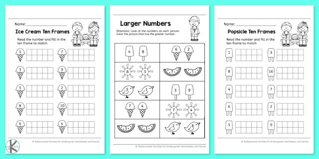 Preschool Maths Worksheets Uk