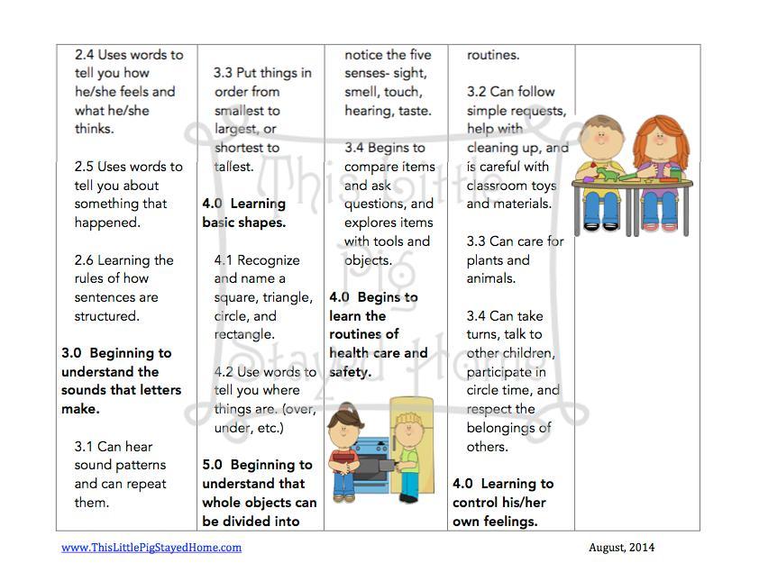 Preschool Worksheets Age 2-3 2