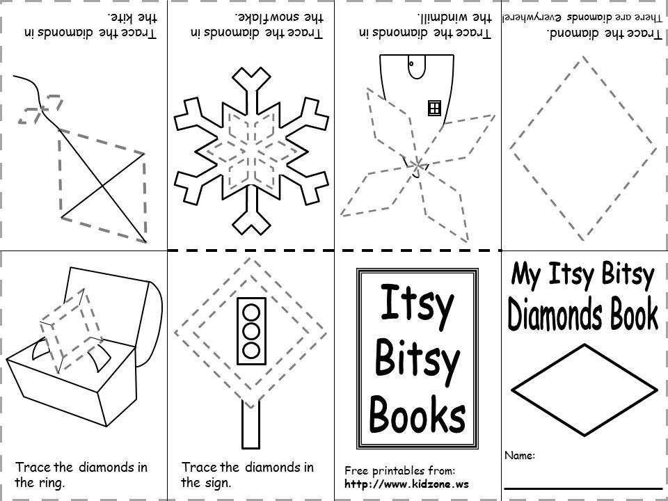 Preschool Worksheets Book 3