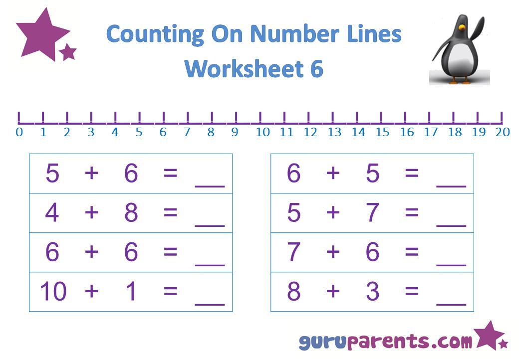 Preschool Worksheets Math 1