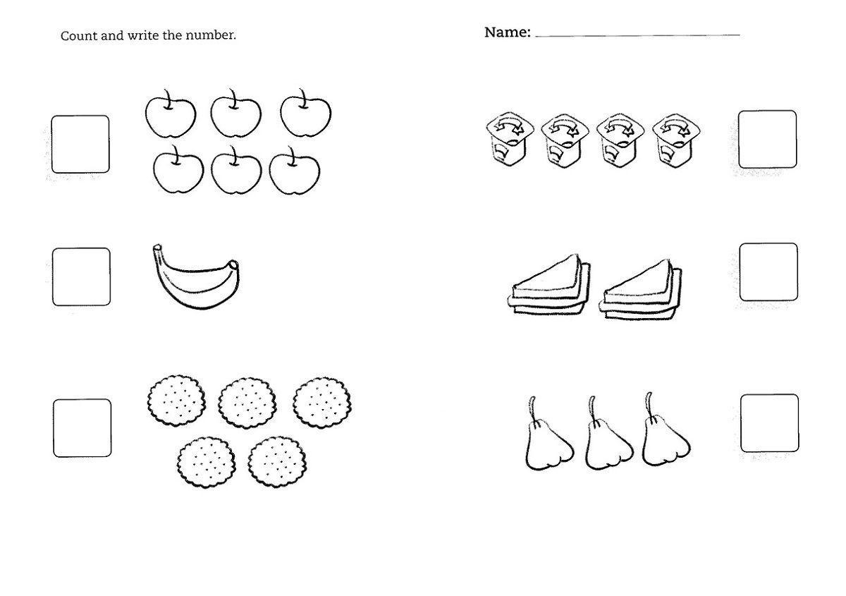 Printable Preschool Worksheets Age 2
