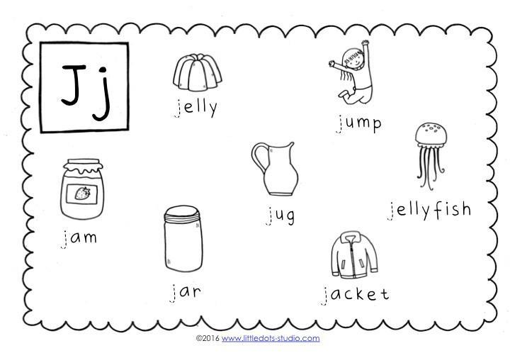Free Printable Letter J Worksheets For Preschool