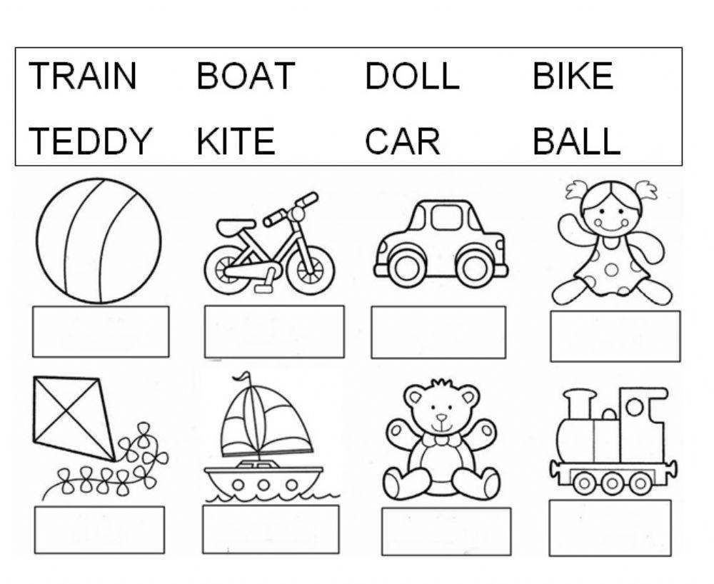Preschool English Worksheets Pdf Free