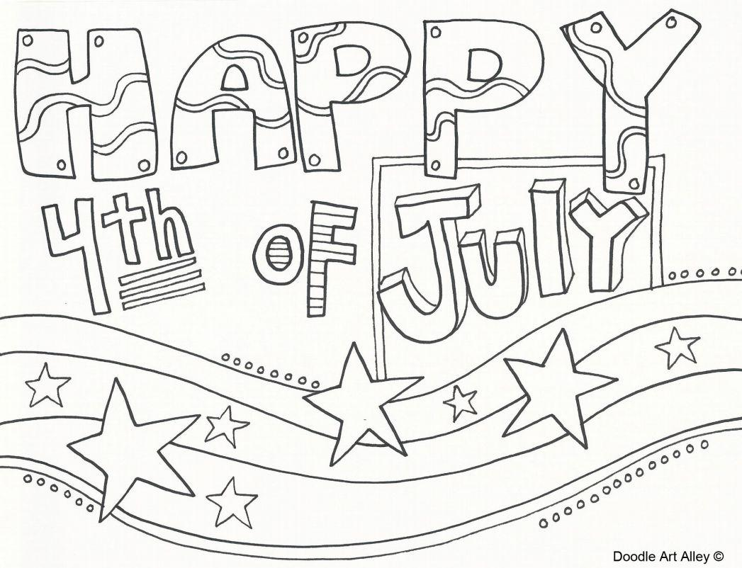 Preschool Fourth Of July Worksheets 6
