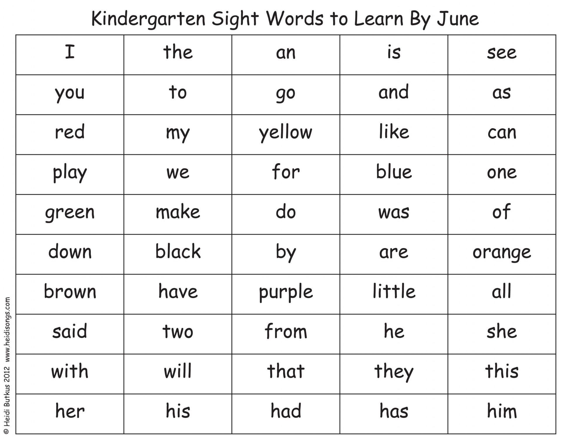 Preschool Grammar Worksheets 4