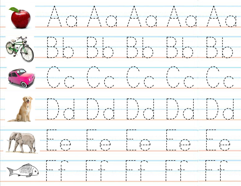Preschool Handwriting Worksheets Free