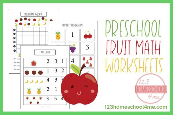 Preschool Printable Math Worksheets