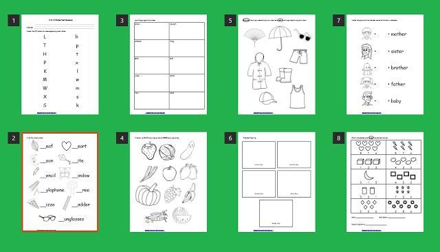 Preschool Worksheet Deped