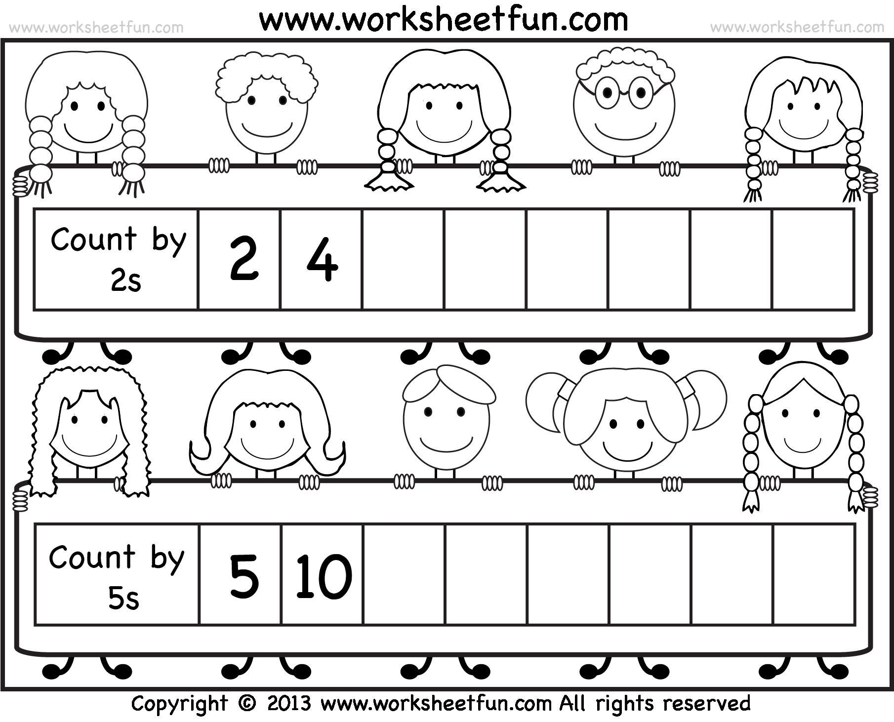 Preschool Worksheets Grade 2 4