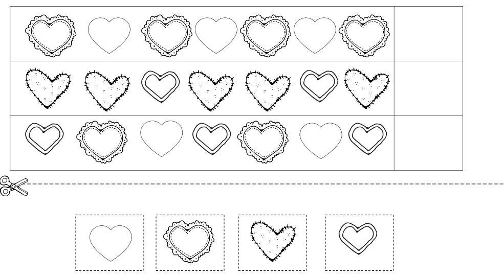 Preschool Worksheets Heart 3