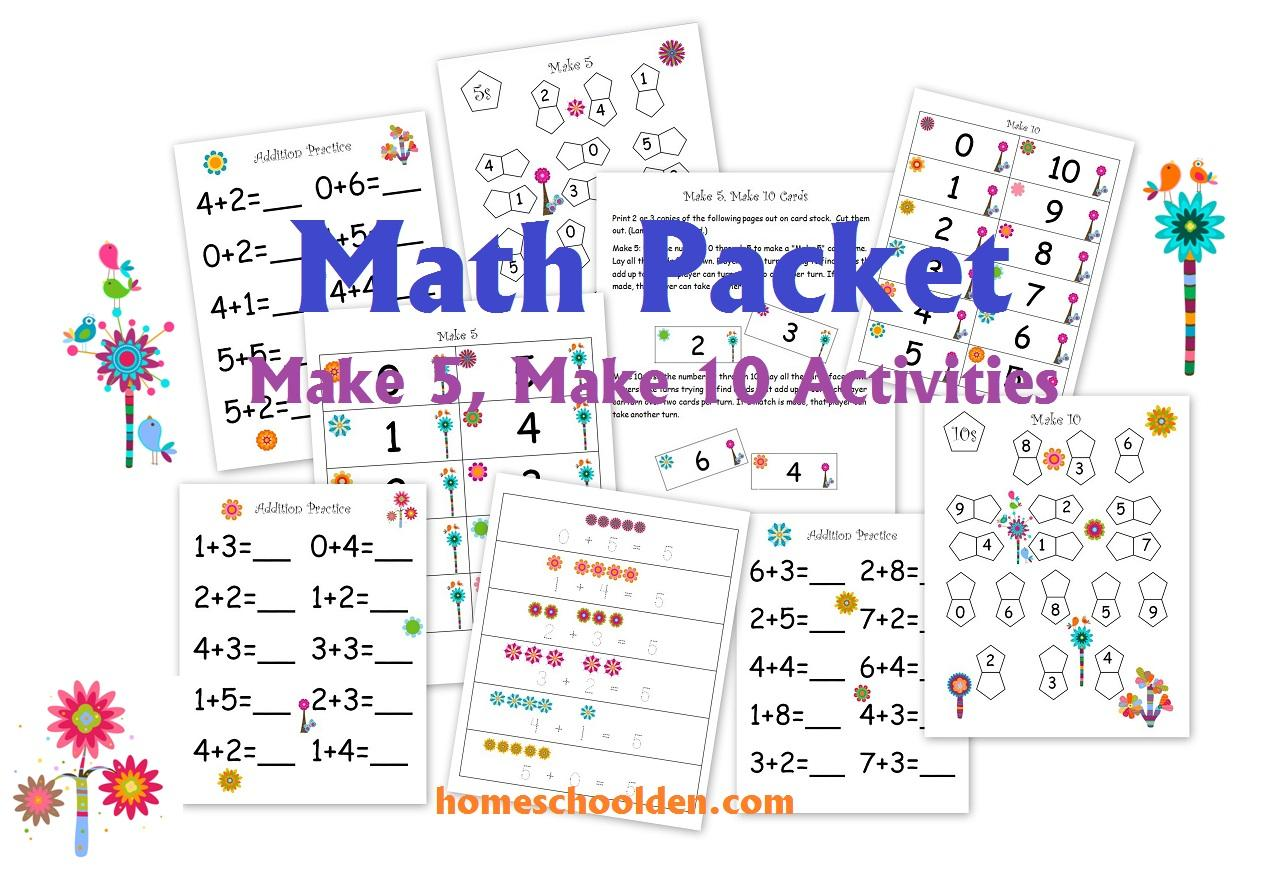 Preschool Worksheets Homeschool 5