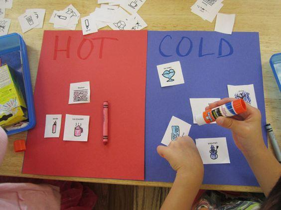Preschool Worksheets Hot And Cold 7