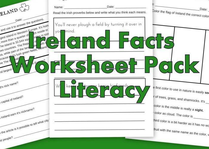 Preschool Worksheets Ireland 2