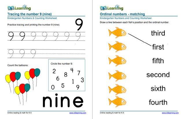 Preschool Worksheets K5 Learning 1