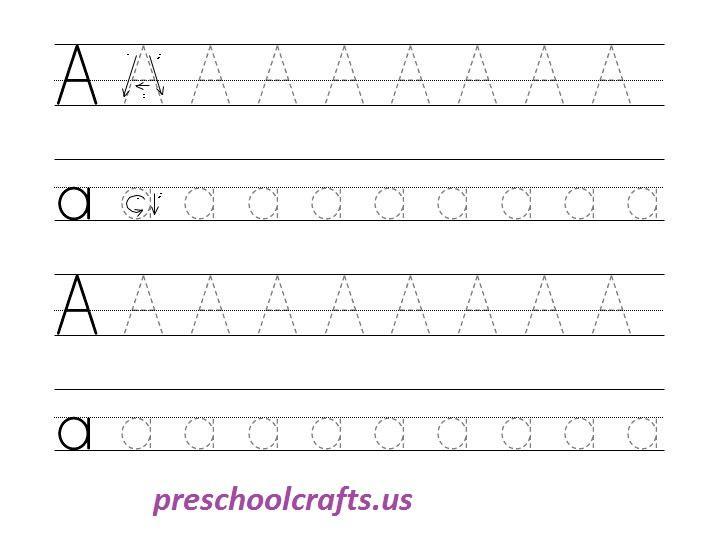 Free Printable Preschool Worksheets Tracing Shapes