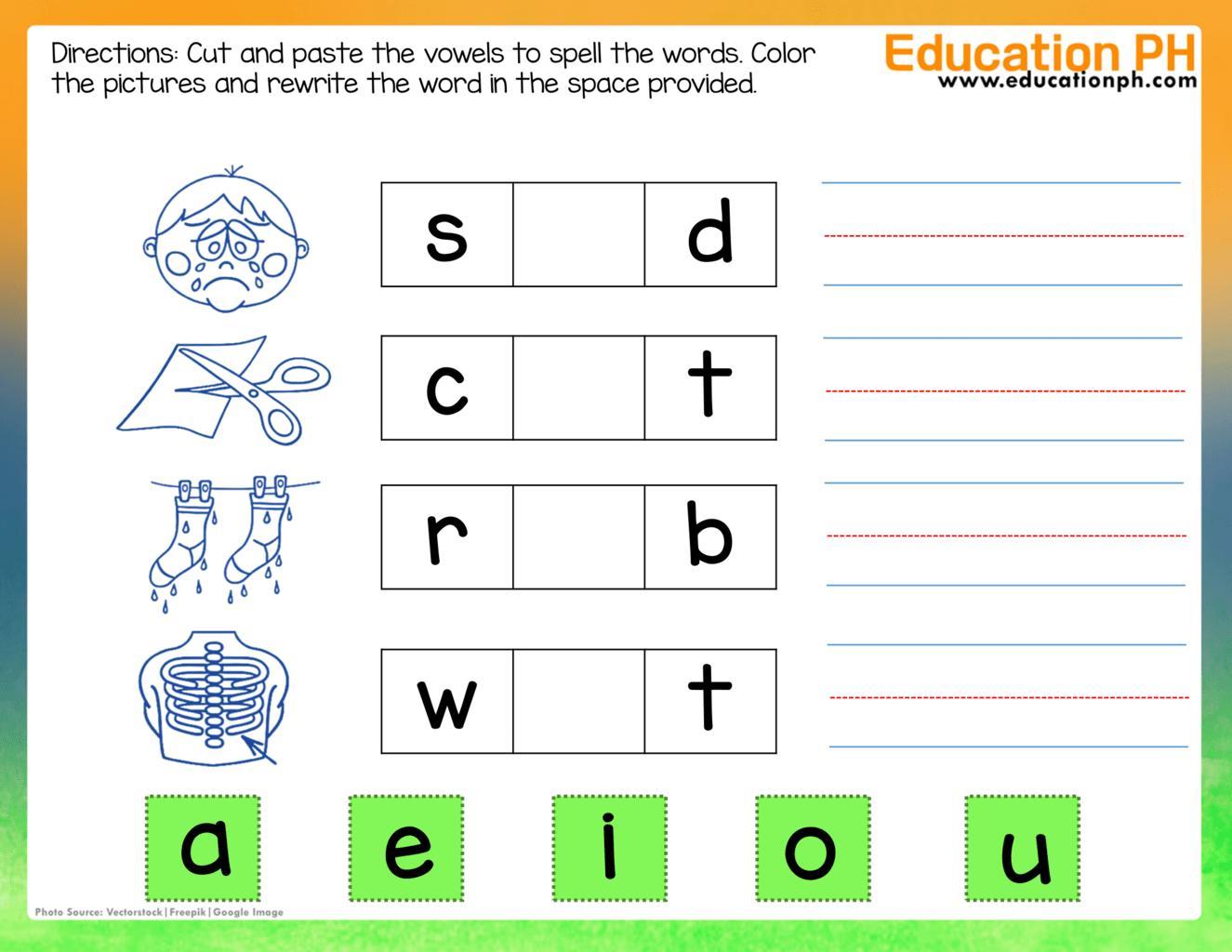 Preschool Printable Worksheets For 3 Year Olds