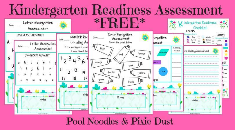 Preschool Readiness Worksheets 4