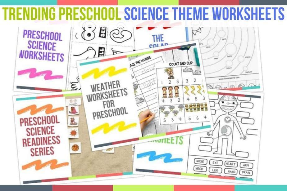 Preschool Science Worksheets Pdf