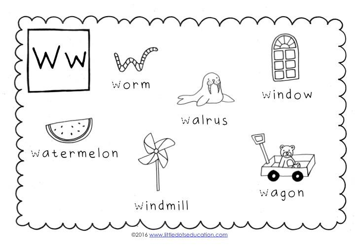 Preschool Worksheets For Letter C