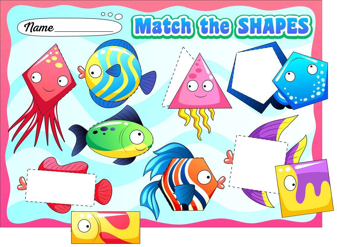 Preschool Worksheets Matching Objects 7