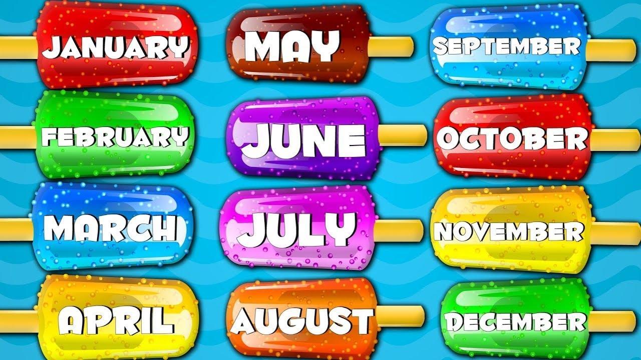 Preschool Worksheets Months 4
