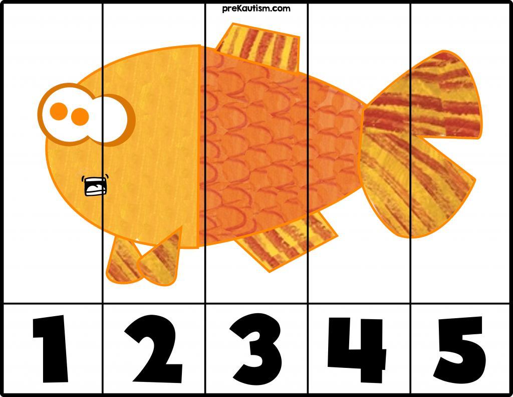 Preschool Worksheets Numbers 1-5 4