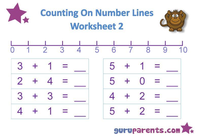 Preschool Writing Worksheets Lines