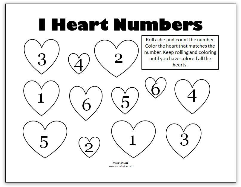 Christian Preschool Printables Valentine's Day