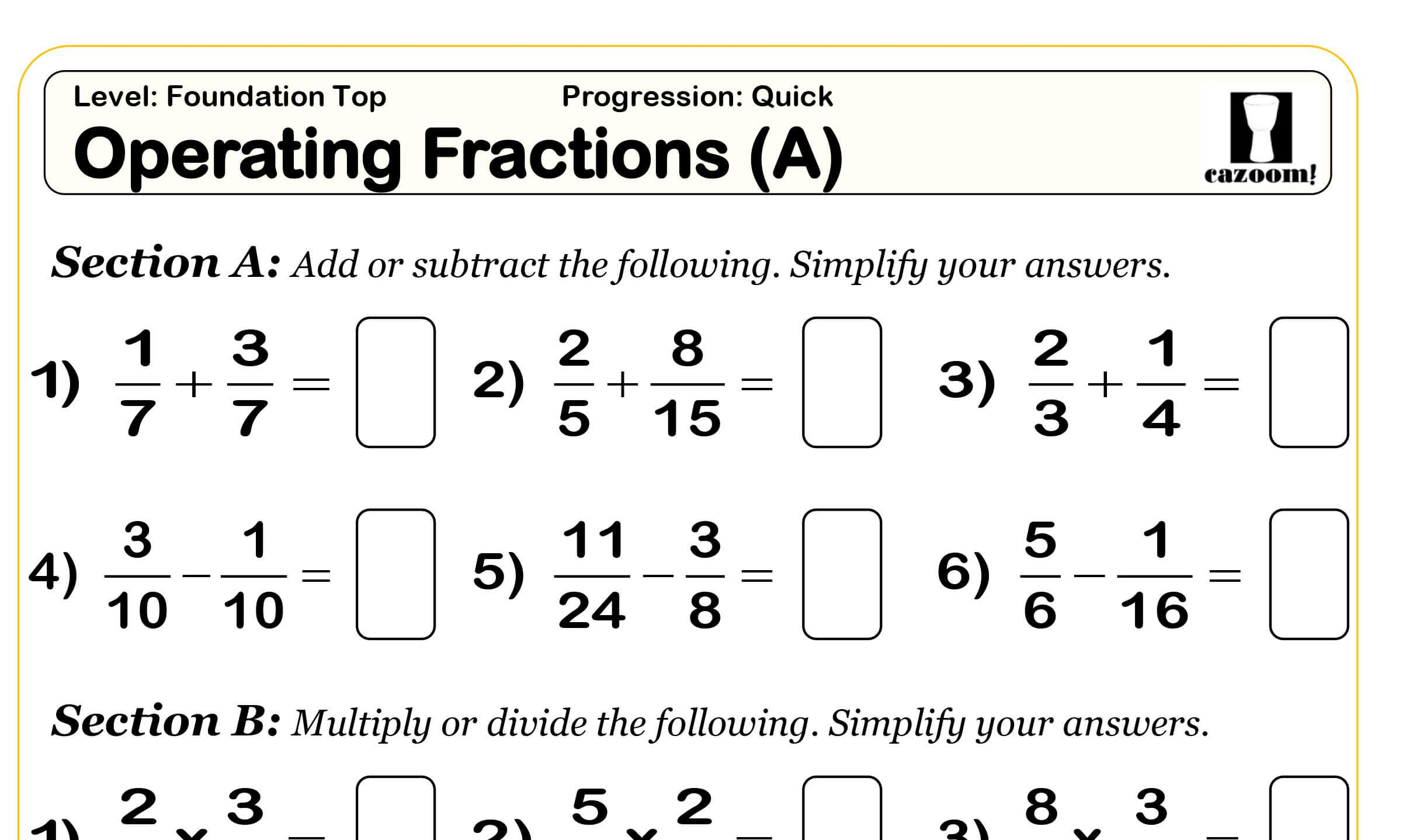 Math Worksheets By Grade Level 7