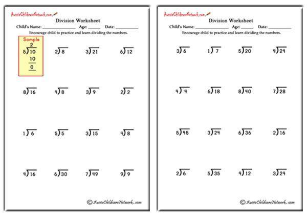 Math Worksheets Class 3 5