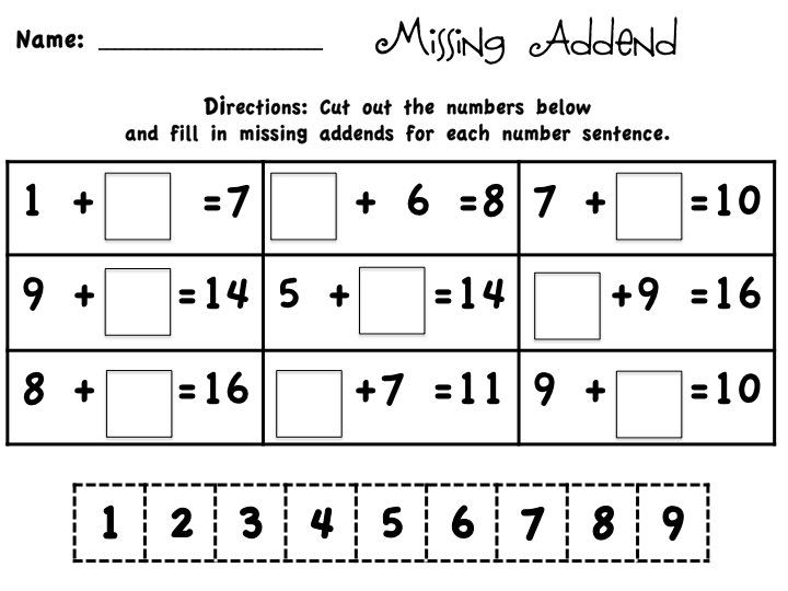 Math Worksheets Common Core 3