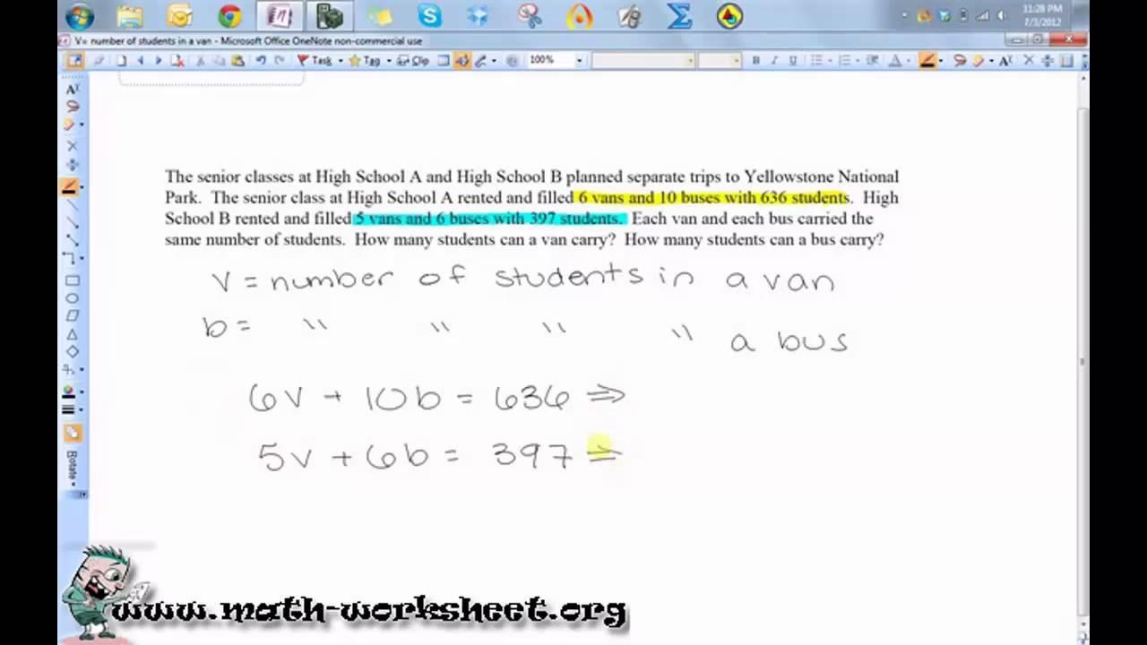 Math Worksheets For Grade 3 6