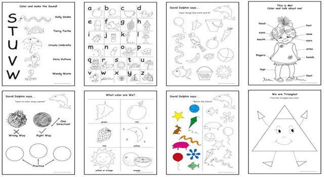 Preschool Printables For 3 Year Olds