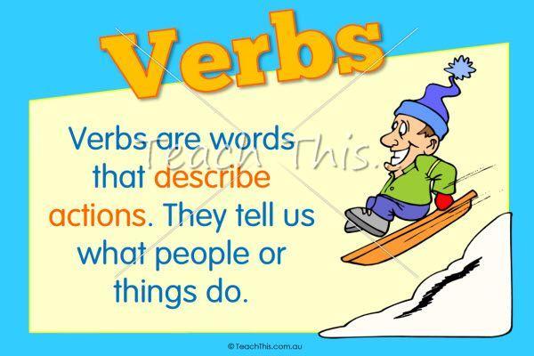 Preschool Verb Worksheets 6