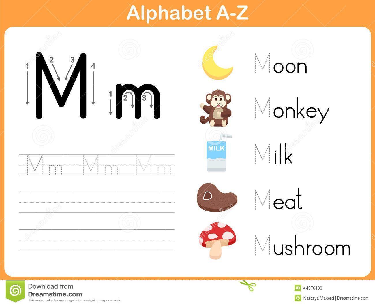 Preschool Writing Worksheets A-z For Beginners 5
