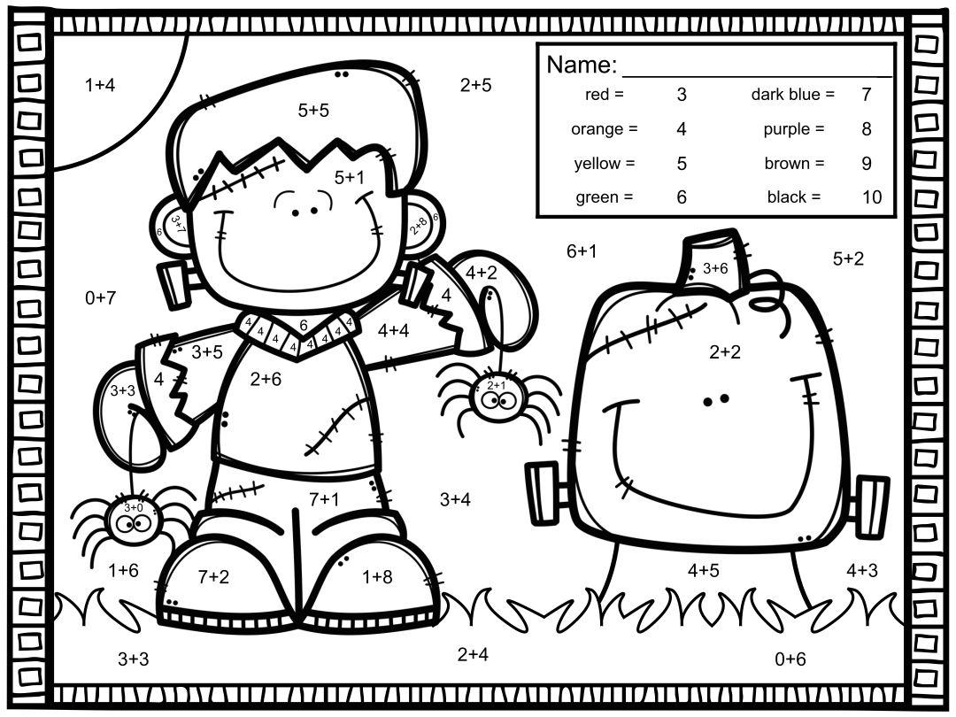 Free Printable Halloween Math Worksheets For 5th Grade