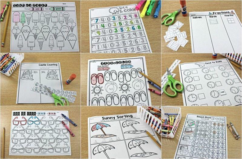 Math Journal Worksheets 3
