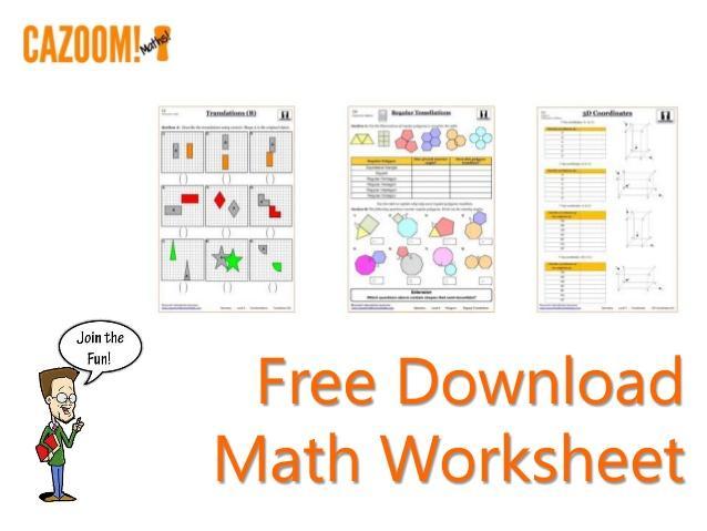 Math Worksheets Download 3